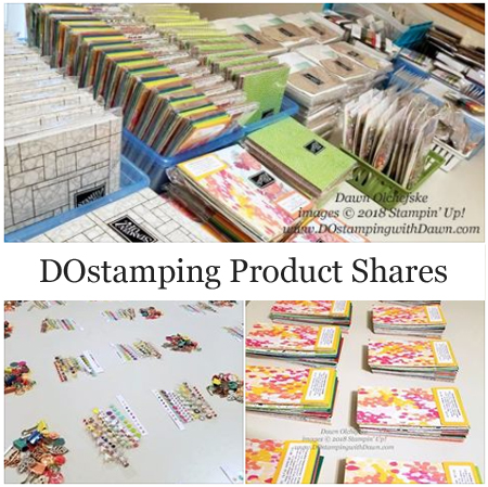 Stampin' Up! Annual Catalog product shares offered by Dawn Olchefske #dostamping  #stampinup #productshares