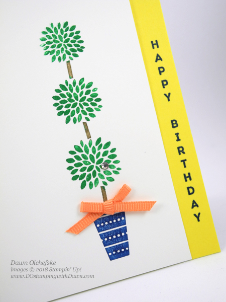 Stampin' Up! Vertical Greetings shared by Dawn Olchefske #dostamping  #stampinup #handmade #cardmaking #stamping #diy #rubberstamping #papercrafting #birthdaycards