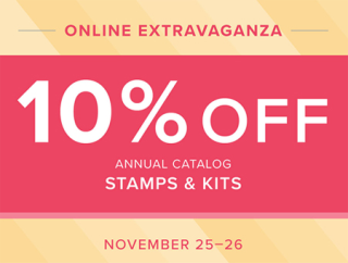 November 23-24 - Stock up on Stampin' Up! paper & embellishments at 10% off, shop with Dawn Olchefske at:  dostamping.stampinup.net  #stampinup #dostamping #papercrafting