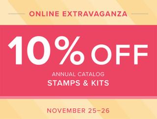 November 23-24 - Stock up on Stampin' Up! paper & embellishments at 10% off, shop with Dawn Olchefske at:  dostamping.stampinup.net  #stampinup #dostamping #papercrafting