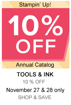 Nov 27-28 Stampin' Up! Online Extravaganza Sale - Tools & Inks, shop with Dawn Olchefske at dostamping.stampinup.net