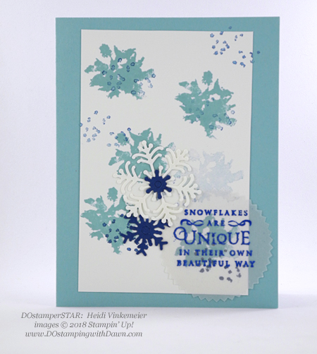 DOstamperSTARS holiday swaps shared by Dawn Olchefske #dostamping  #stampinup #cardmaking #stamping #papercrafting (Heidi Vinkemeier)