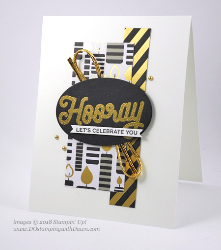 Stampin' Up! Broadway Bound Suite Week Day 2 from Dawn Olchefske #dostamping  #stampinup #handmade #cardmaking #stamping #papercrafting #birthdaycards #broadwaybound