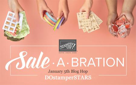 DOstamperSTARS Sale-a-Bration Blog Hop #dostamping #papercrafting #saleabration #cardmaking