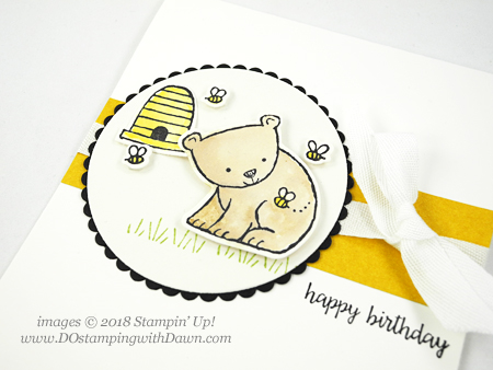Stampin' Up! A Little Wild birthday card shared by Dawn Olchefske #dostamping  #stampinup #handmade #cardmaking #stamping #papercrafting #birthdaycards