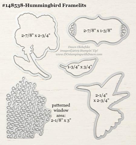 Stampin' Up! Hummingbird Framelit #DOstamping #stampinup #Hummingbird #bigshot #cardmaking #HowdSheDOthat #papercrafting