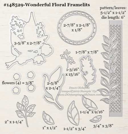 Stampin' Up! Wonderful Floral Framelits #DOstamping #stampinup #WonderfulFloral #bigshot #cardmaking #HowdSheDOthat #papercrafting