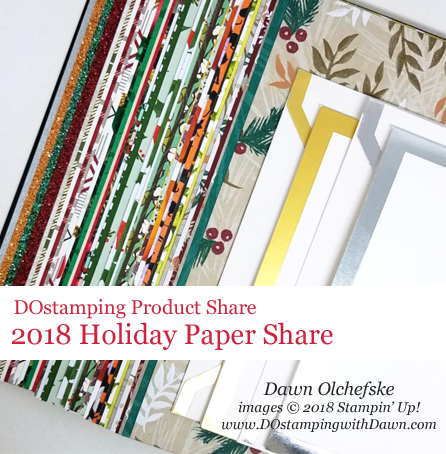 DOstamping 2018 Stampin' Up! Holiday Product Shares - Reservations Open