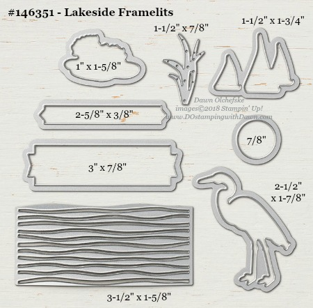 146351-Lakeside-DOstamping Stampin' Up! Framelits Measurements sizes for 2018-2019 Annual Catalog #stampinup #dostamping #framelitsizes