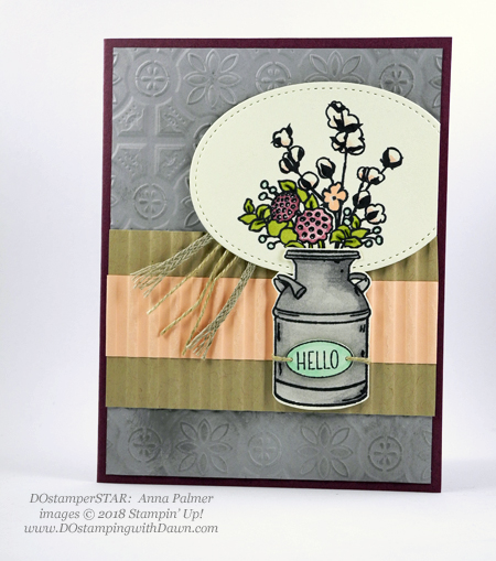 DOstamperSTARS sharing Stampin' Up!'s new Country Lane Suite cards #dostamping  #stampinup #handmade #cardmaking #stamping #diy #papercrafting #stampinblends #countrylane (Anna Palmer)