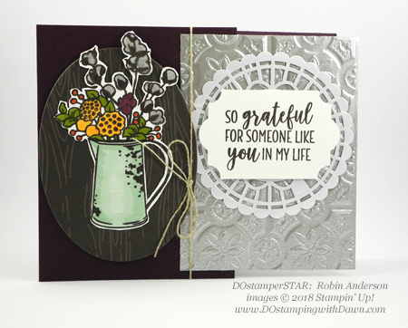 DOstamperSTARS sharing Stampin' Up!'s new Country Lane Suite cards #dostamping  #stampinup #handmade #cardmaking #stamping #diy #papercrafting #stampinblends #countrylane (Robin Anderson)