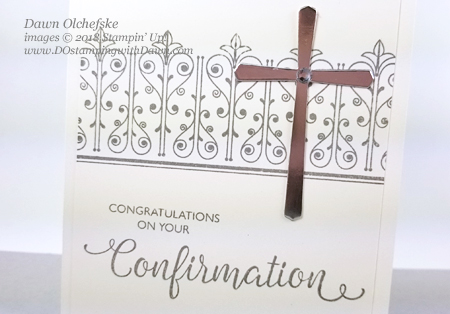 Stampin' Up! Inspired Events card by Dawn Olchefske #dostamping #stampinup #handmade #cardmaking #rubberstamping#religiouscards
