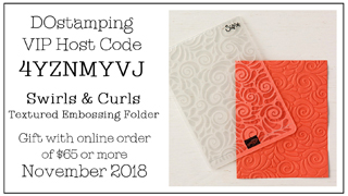 DOstamping November VIP Host Code 4YZNMYVJ, shop with Dawn Olchefske at https://bit.ly/shopwithdawn