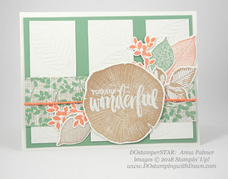 Stampin' Up! Rooted in Nature cards shared by Dawn Olchefske #dostamping  #stampinup #handmade #cardmaking #stamping #papercrafting #rootedinnature (Anna Palmer)