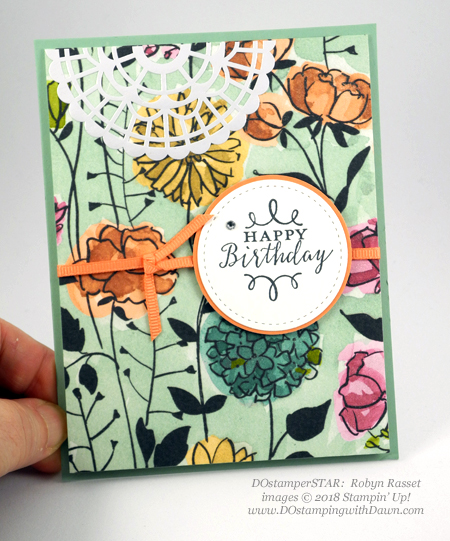 Stampin' Up! Share What You Love cards shared by Dawn Olchefske #dostamping  #stampinup #handmade #cardmaking #stamping #papercrafting #sharewhatyoulove (Robyn Rasset)