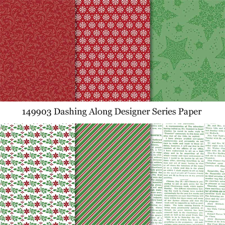149903 Dashing Along DSP now available for sale #stampinup #dostamping