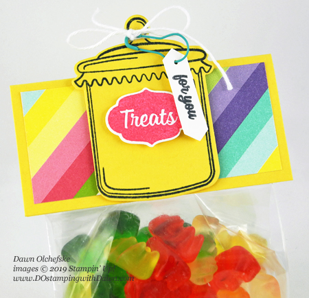 How Sweet it is Treat Bag #dostamping #packaging #treatbags #stampinup