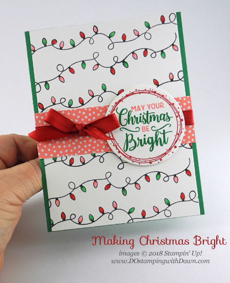 Control Freak November 2018 Blog Tour Home for the Holiday projects shared by Dawn Olchefske #dostamping  #stampinup #handmade #cardmaking #stamping #diy #papercrafting using Making Christmas Bright
