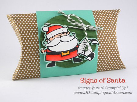 Control Freak November 2018 Blog Tour Home for the Holiday projects shared by Dawn Olchefske #dostamping  #stampinup #handmade #cardmaking #stamping #diy #papercrafting using Signs of Santa