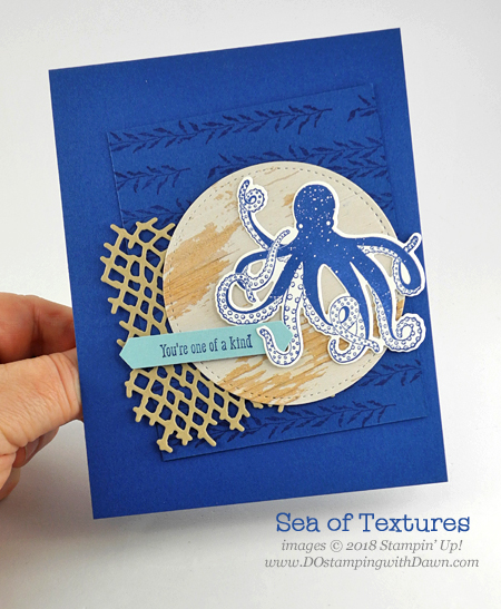 Stampin' Up! Tranquil Textures Suite Week Day 1 from Dawn Olchefske #dostamping  #stampinup #handmade #cardmaking #stamping #papercrafting #tranquiltextures #seaoftextures