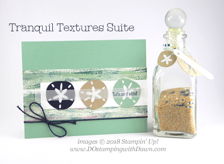 Stampin' Up! Tranquil Textures Suite Week Day 2 from Dawn Olchefske #dostamping  #stampinup #handmade #cardmaking #stamping #papercrafting #tranquiltextures #seaoftextures