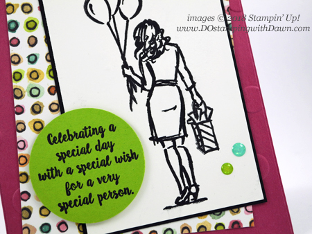Stampin' Up! Wonderful Moments card shared by Dawn Olchefske #dostamping  #stampinup #handmade #cardmaking #stamping #papercrafting #wonderfulmoments #birthdaycards