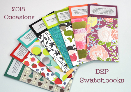 DOstamping 2018 Occasions Catalog Swatchbook