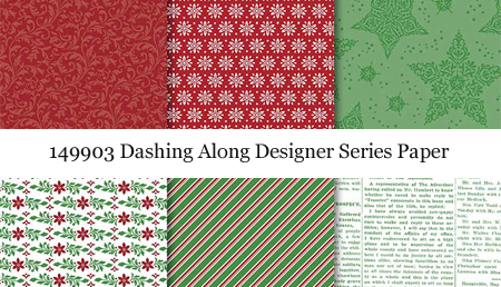 149903 Dashing Along Designer Series Paper still available