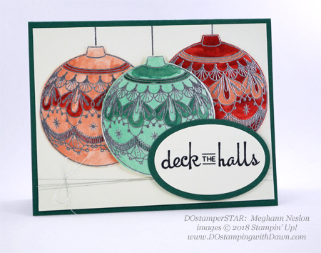DOstamperSTARS holiday swaps shared by Dawn Olchefske #dostamping  #stampinup #cardmaking #stamping #papercrafting (Meghann Nelson)