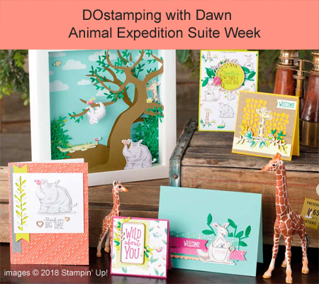 Check out Animal Expedition Suite Week with DOstamping with Dawn, Dawn Olchefske #dostamping #stampinup #cardmaking #papercrafting #animalouting #animalexpedition