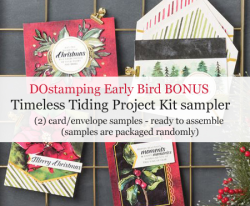 DOstamping Holiday Product Shares - 9/4 Early Bird Bonus