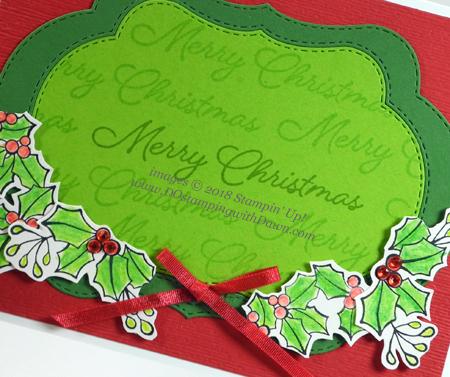 Stampin' Up! Blended Seasons Bundle shared by Dawn Olchefske #dostamping #stampinup #handmade #cardmaking #stamping #papercrafting#christmascards #stitchedseasons