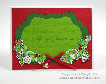 Stampin' Up! Blended Seasons Bundle shared by Dawn Olchefske #dostamping  #stampinup #handmade #cardmaking #stamping #papercrafting #christmascards #stitchedseasons