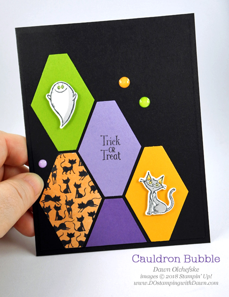 Stampin' Up! Cauldron Bubble Bundle by card Dawn Olchefske - coming soon in the 2018 Holiday Catalog #dostamping  #stampinup #handmade #cardmaking #stamping #diy #papercrafting