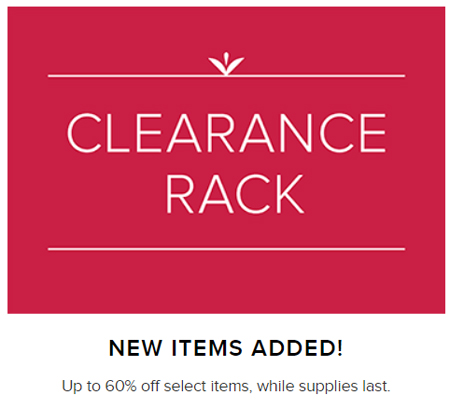 Stampin' Up! clearance rack has been update - shop for savings up to 60% at https://bit.ly/shopwithdawn #clearancerack #stampinup #craftsupplies #dostamping