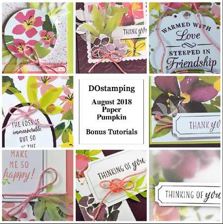 Paper Pumpkin August 2018 Kit Sneak Peak, subscribe with Dawn Olchefske at: https://mypaperpumpkin.com?demoid=61500 #paperpumpkin #cardkits