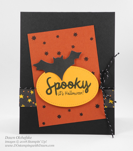 Paper Pumpkin Sep 2018 Frights & Delights kit alternate card idea from Dawn Olchefske #dostamping  #stampinup #handmade #cardmaking #stamping #diy #frightsanddelights #papercrafting #paperpumpkin #cardkits