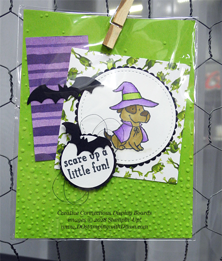 13 Halloween cards using Stampin' Up! 2018 Holiday product shared by Dawn Olchefske #dostamping  #stampinup #handmade #cardmaking #stamping #diy #papercrafting #halloweencards (Creative Connections Display)