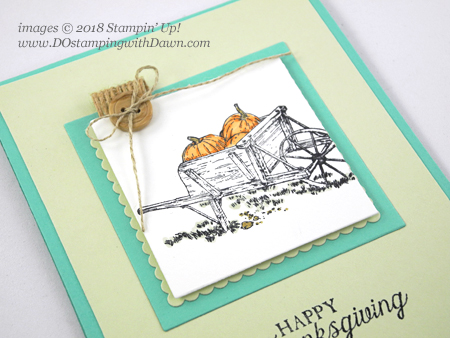 Control Freak month 2018 Blog Tour Pleasant Pheasants cards shared by Dawn Olchefske #dostamping  #stampinup #handmade #cardmaking #stamping #diy #rubberstamping #papercrafting