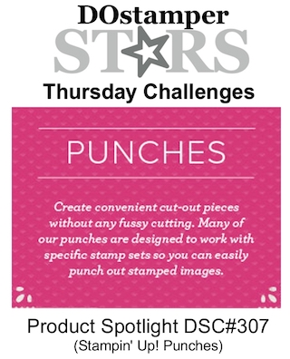 DOstamperSTARS Thursday Challenge DSC#307 #dostamperSTARS #thursdaychallenge #punches