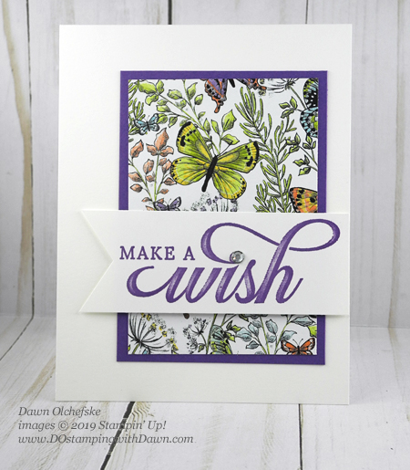 Stampin' Up! Life is Grand, Botanical Butterfly DSP (free during Sale-a-Bration by Dawn Olchefske #dostamping #howdshedothat #stampinup #handmade #cardmaking #stamping #papercrafting#simplestamping #birthdaycards