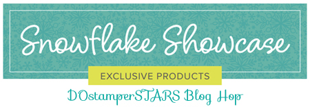 Join the DOstamperSTARS for a Snowflake Showcase Blog Hop #dostamping #dostamperstars #stampinup #snowflakeshowcase #cardmaking #papercrafting