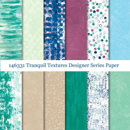 146331-Tranquil Textures Designer Series Paper - shop with Dawn Olchefske at dostamping.stampinup.com