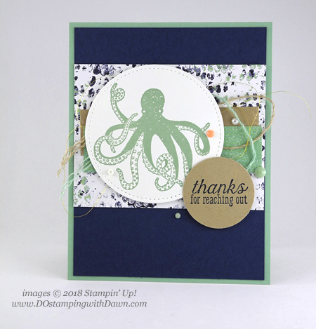 Stampin' Up! Tranquil Textures Suite Week Day 3 from Dawn Olchefske #dostamping  #stampinup #handmade #cardmaking #stamping #papercrafting #tranquiltextures #seaoftextures