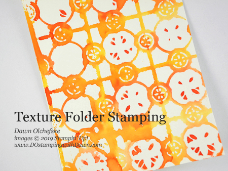 Texture Impressions Stamping card by Dawn Olchefske #dostamping #howdshedothat #stampinup #handmade #cardmaking #stamping #papercrafting #stampingtechniques