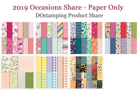 DOstamping 2019 Occasions Catalog Product Shares - Paper offered by Dawn Olchefske #productshares #howdshedothat #dostamping