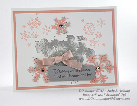 DOstamperSTARS holiday swaps shared by Dawn Olchefske #dostamping  #stampinup #cardmaking #stamping #papercrafting (Judy Strickling)