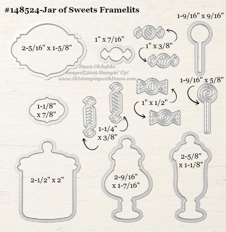 Stampin' Up! Jar of Sweets Framelit #DOstamping #stampinup #JarofSweets #bigshot #cardmaking #HowdSheDOthat #papercrafting