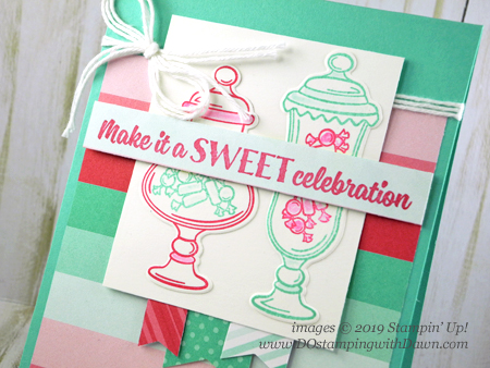 Stampin' Up! Sweetest Thing bundle card shared by Dawn Olchefske #dostamping #howdshedothat #stampinup #handmade #cardmaking #stamping #papercrafting #birthdaycards