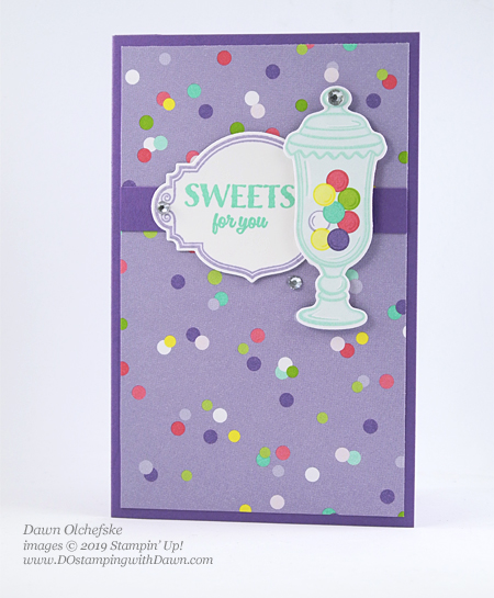 Stampin' Up! Sweetest Thing Pop Up Diorama Card by Dawn Olchefske for Stamping with the STARS #dostamping #howdshedothat #stampinup #handmade #cardmaking #stamping #papercrafting  #DOswts308 #funfold  #birthdaycards